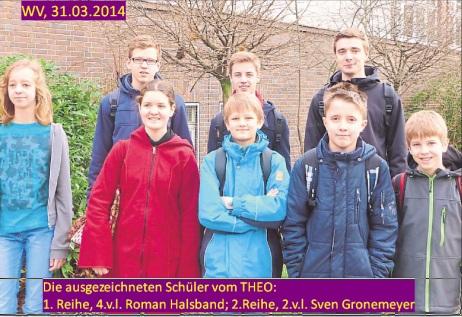 Teilnehmer Mathe-Wettbewerb