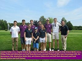 Die erfolgreichen Golf-Teams